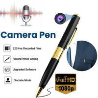 1080P Spy Hidden Camera Pen Recorder Audio Video Mini Portable Pocket Body Cam