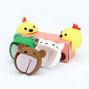 4Pcs Cartoon Baby Safety Furniture Corner Guards Silicone Protector Edge Cover