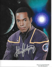 Anthony Montgomery Star Trek Enterprise Ensign Mayweather Autographed Picture #3