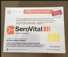 SeroVital Supplements 160 Capsules 40 Day Supply MAX STRENGTH Sealed, 01/2020
