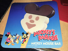 1990's Mickey's Parade Mickey Mouse Bars Ice Cream Truck Decal