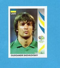 PANINI-GERMANY 2006-Figurina n.551- SHOVKOVSKIY - UCRAINA -NEW BLACK