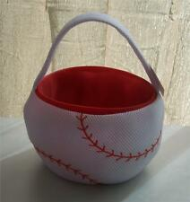 Dan Dee Plush Baseball Basket ~Party Decoration~Any Occasion~Room Decoration~