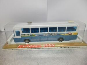 majorette very rare  3064  mercedes benz bus sun tours vintage