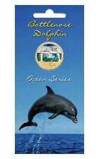 2007 $1 Ocean Series - Bottlenose Dolphin Colour Printed Coin