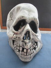 Don Post Studios Skull Full Head Monster Halloween Mask  c1967 Vintage! RARE!