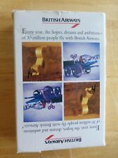 BRITISH AIRWAYS VINTAGE PACK OF PLAYING CARDS IN VGC AND VERY COLLECTABLE