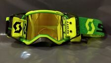 2019 Scott Prospect MX Goggle Racer Pack Green Black - Yellow Lens - Yellow WFS