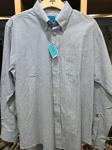 NWT! - Castaway Straight Wharf Button Down Shirt Size M Was $98
