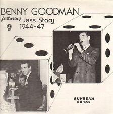 "Benny Goodman 1944-47 ft Jess Stacy 1978 US mono Sunbeam vinyl 12"" 33rpm LP (ex)"