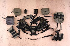 1/6 Scale, MINI TIME Navy Seal SOCOM DIVER TACTICAL vest, gears, pouches set
