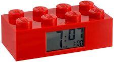 LEGO Kids' - Red LEGO Brick Alarm Clock