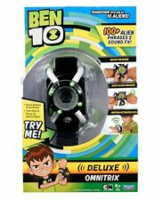 BEN 10 Deluxe OMNITRIX WATCH with 100+ Alien Phrases & Sound Effects