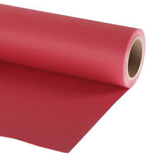 Professional Photo Background Paper Roll 2.72x11m (9ft x 35ft) Primary Red