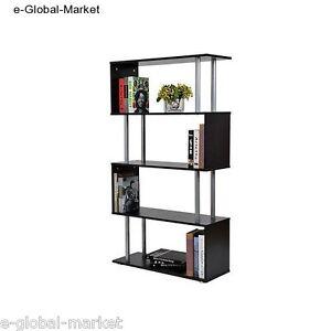 Bookcase Display Unit Shelf Bookshelf Shelves Storage Book Shelving Wood DVD CD