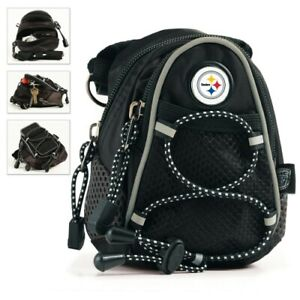 NFL PITTSBURGH STEELERS MINI DAY PACK HOOK ON PURSE OR BELT