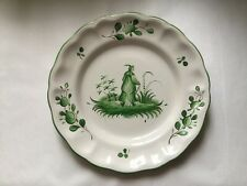 Antique Vintage French Faience Chinoiserie Plate c.1925-1975