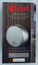 August Smart Lock SL02 - M02 - S02 (Silver) - In Box