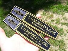 Vintage original nos CHEVROLET dealer trunk badge emblems accessory promo gm 60s