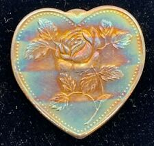 """Vintage Rainbow Toned 1 oz .999 Silver Heart Shaped """"Especially For You"""""""