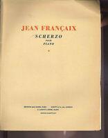 """Jean Francaix """" Scherzo """" ~ für Klavier"""