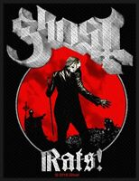 GHOST - RATS (NEW) SEW ON PATCH OFFICIAL BAND MERCHANDISE
