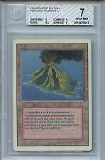 MTG Revised Dual Land Volcanic Island BGS 7.0 (7) NM Magic Card