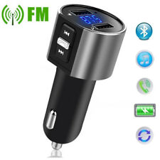 Bluetooth Fm Transmitter Wireless with Dual Usb port for SmartPhone