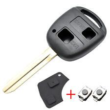 Car Key Shell For Toyota Yaris Prado Tarago Camry Corolla Key Remote Fob Case