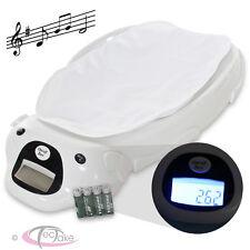 tectake LCD Pèse-bébé Électronique - Blanc