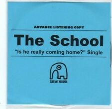 (BQ521) The School, Is He Really Coming Home? - DJ CD