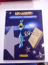 ALBUM vuoto LUPO ALBERTO LUPASTRO D'ARGENTO Panini 2000 + ADESIVI + DADI