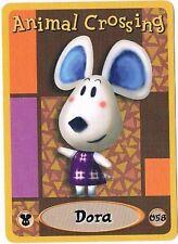 Dora 058 Animal Crossing E-Reader Card Nintendo GBA