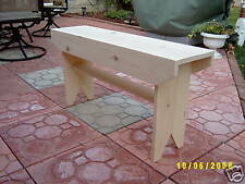 "HANDMADE 36"" WOODEN BENCH (DIFFERENT SIZES)"