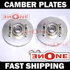 "MK1 Universal Fit 4.5"" Diameter Adjustable Rear Upper Camber Plates Strut Mount"