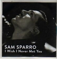(DB991) Sam Sparro, I Wish I Never Met You - DJ CD