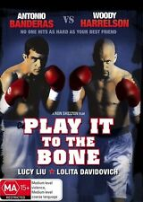 Play It To The Bone (DVD)** LIKE NEW** R4 PAL, Woody Harrelson Antonio Banderas