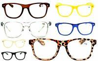 Myopia Near Sighted Distance Glasses Classic Oversized Frame 7 Colours NG49