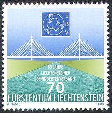 Liechtenstein 2003 Disabled Association/Bridge/Engineering/Animation 1v (n42408)