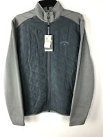 Callaway Golf Zip Up Coat Opti-Shield Quilted jacket New W/tags $80 MSRP Men's