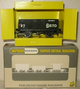 Wrenn Railways OO Gauge Trial Wagon Black Bisto Mineral Wagon