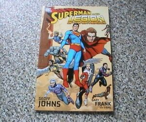 SUPERMAN AND THE LEGION OF SUPERHEROES - GEOFF JOHNS    DC COMICS TPB