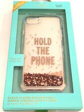 """Kate Spade New York Clear Liquid Glitter Case for iPhone 7 & 8 4.7"""" Rose Gold"""