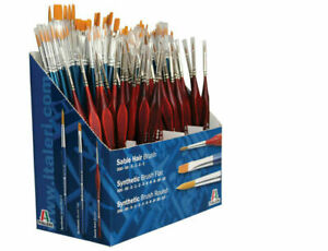Italeri Paint Brushes for Model Making - Available in Several Sizes and Styles
