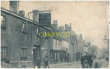Hertfordshire.(SG9).Buntingford.High street.houses.people..photo / postcard.1906