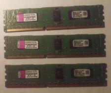 Kingston KVR1066D3E7SK3/3G PC3-8500 DDR3-1066MHz ECC 240-Pin DIMM