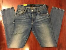 NEW 7 SEVEN FOR ALL MANKIND PAXTYN SKINNY LEG FOOLPROOF DENIM JEANS MEN SIZE 29