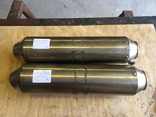 KTM 950SM supermoto exhaust silencer