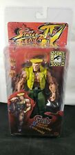 "Neca Street Fighter 4 GUILE 7"" Action Figure Charlie Costume 2009 SDCC Exclusive"