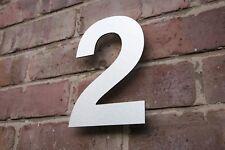 Buy Numbers Silver Decorative Door SignsPlaques EBay - 10 inch metal house numbers